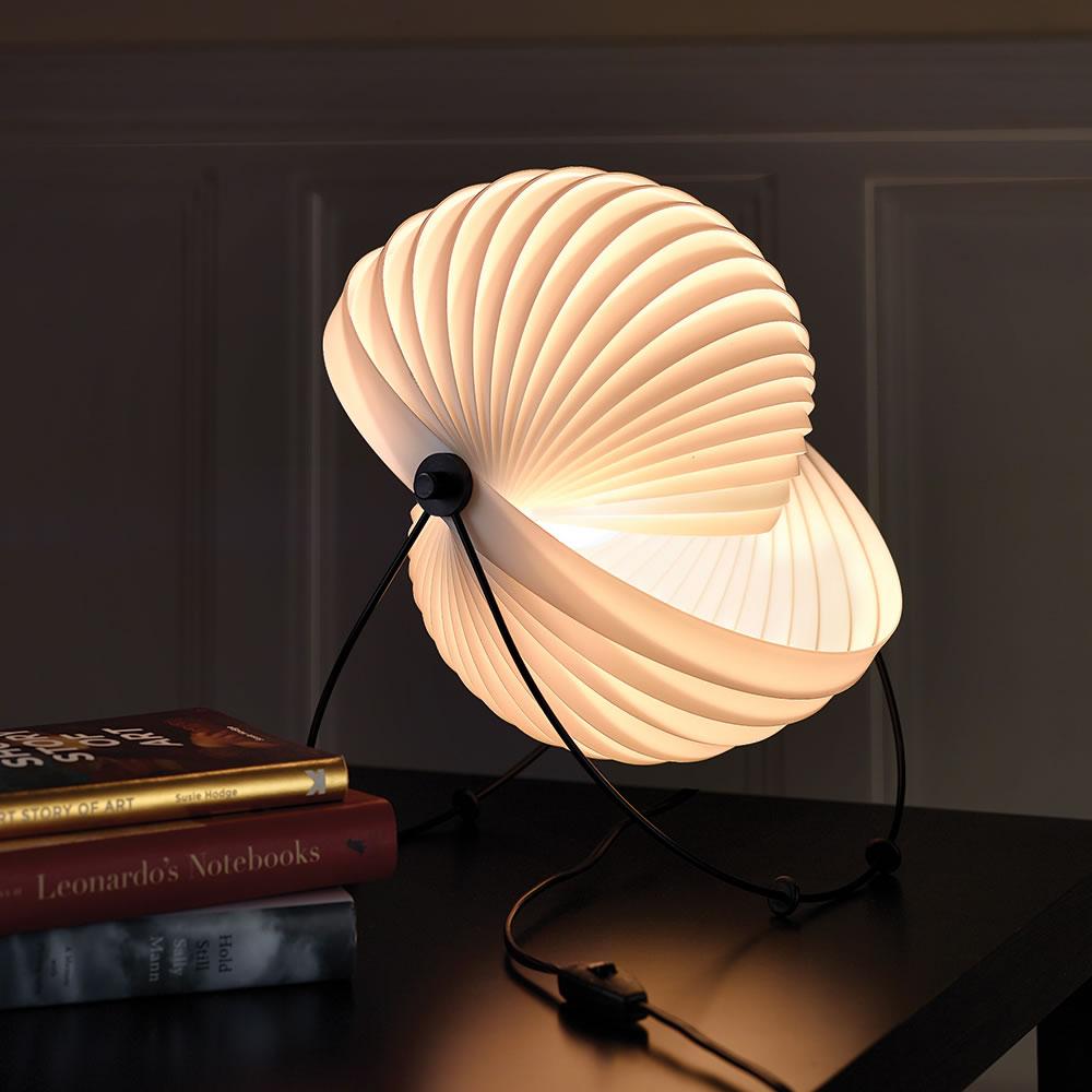 The Modern Art Eclipse Lamp - Hammacher Schlemmer