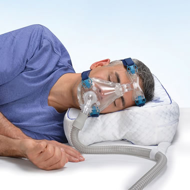 Ventilated Airflow Cpap Comfort Pillow