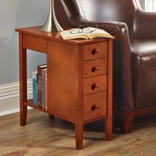 The Tight Space Storage End Table