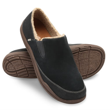 High Arch Orthotic Mens Moccasins 10