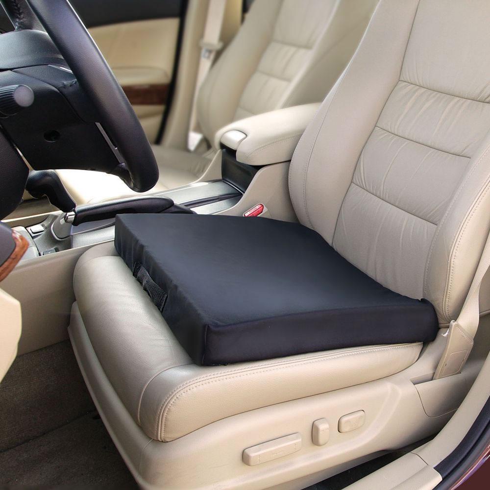 Truck Driver Seat Cushion >> The Truck Driver S Comfort Cushion Hammacher Schlemmer