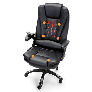Executive Stress Relieving Chair Black