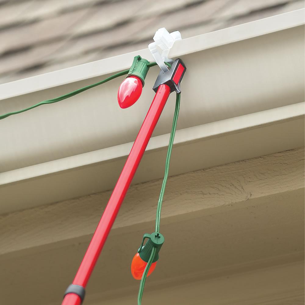 Christmas Light Hangers.Permanent Christmas Light Hangers The Imagine Christmas