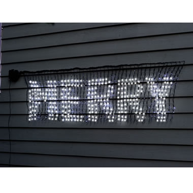 The LED Scrolling Holiday Message Banner
