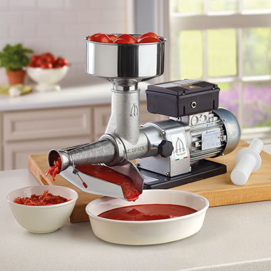 Authentic Italian Electric Tomato Press