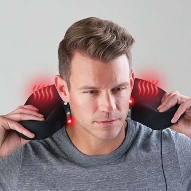 Only Heated Led Neck Pain Relieving Cushion