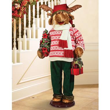The Animatronic Caroling Reindeer