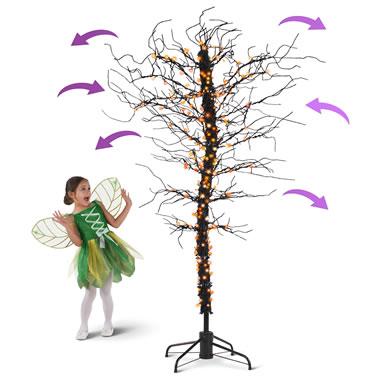 The Eerily Swaying Haunted Tree.
