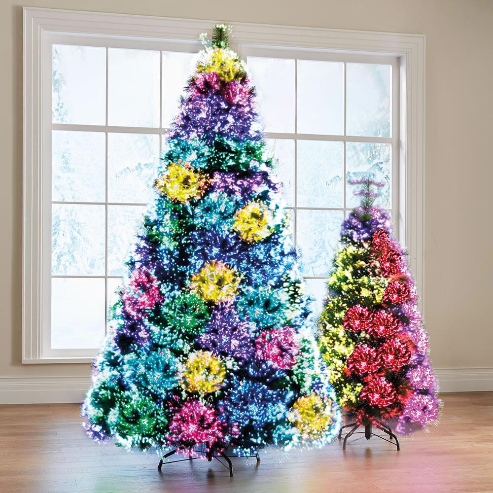 The Northern Lights Christmas Trees