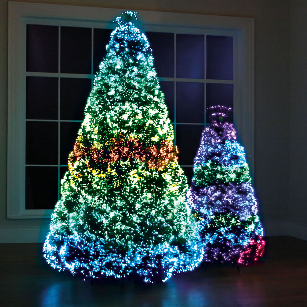 Images Of Christmas Trees.The Northern Lights Christmas Trees Hammacher Schlemmer