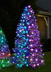 The 3D Floating Lightshow Christmas Tree (7')