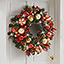 The Cordless Prelit Kensington Holiday Trim (Wreath) - On front door