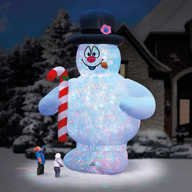The 18' Frosty The Snowman Lightshow.