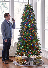 The Voice Controlled Illuminated Christmas Tree