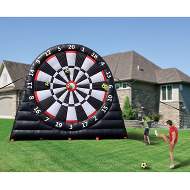 The 20 Foot Inflatable Soccer Dartboard