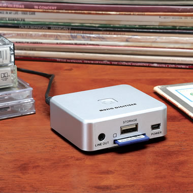 The LP And Cassette to Digital Converter
