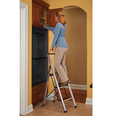 The Tight Space Fold Flat Stepladder