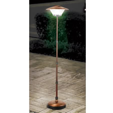The Cordless Telescoping Patio Lamp