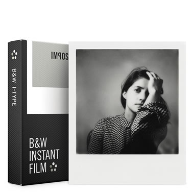 Instant Film B/W For  Modern Instant Camera