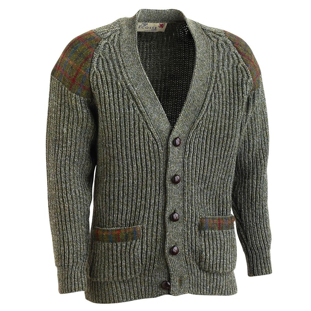 The Harris Tweed Welsh Wool Sweater - Hammacher Schlemmer