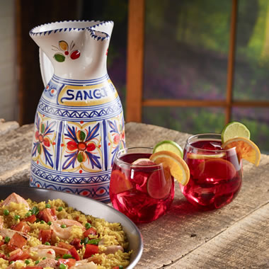 The Hand Crafted Castillian Sangria Pitcher