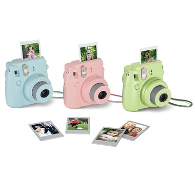 The Instant Mini Photo Printing Camera.