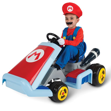Childrens Mario Kart