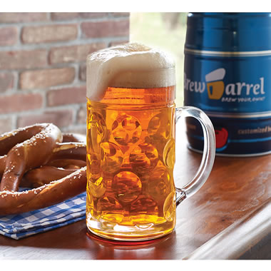 The Authentic Bavarian Lager Brewing Barrel