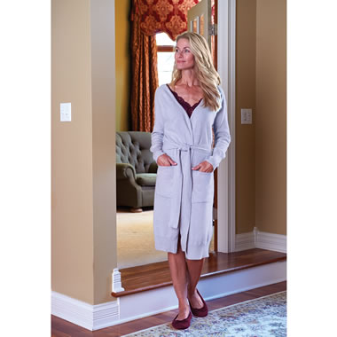 The Signora's Tuscan Cashmere Robe
