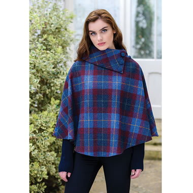 The Killarney Wool Capelet