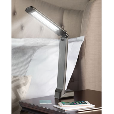 The 20,000 Lux Jet Lag Travel Lamp