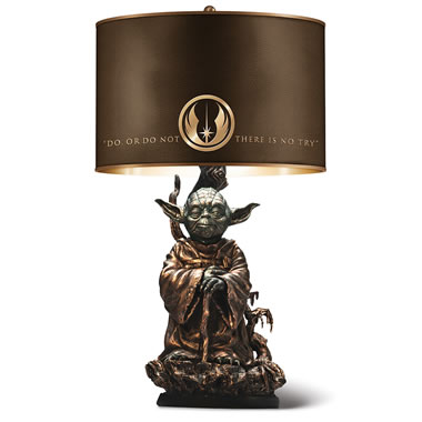 The Yoda Table Lamp