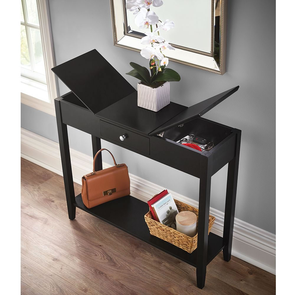The Hidden Storage Console Table