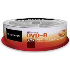 25 DVD-R Discs