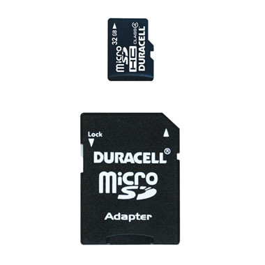 32 Gb Micro Sd Card With Sd Adapter
