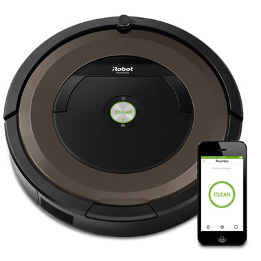 The App Controlled Roomba 890