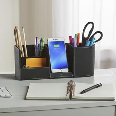 The Phone Charging Desk Organizer