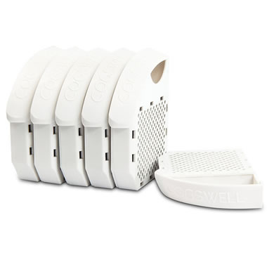 Replacement Filters For The Motion Sensing Toilet Bowl Odor Eliminator.