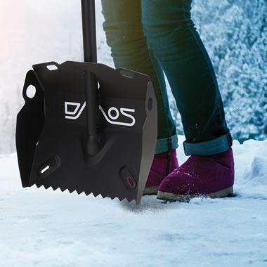 The Ice Breaker Snow Shovel