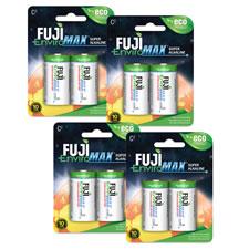 8 Pack C Battery