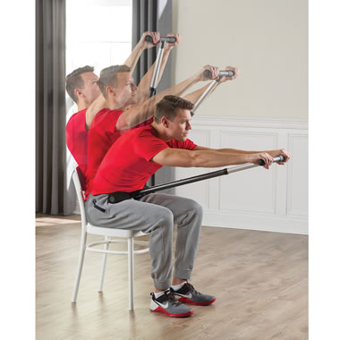 The Physical Therapist's Seated Back Stretcher
