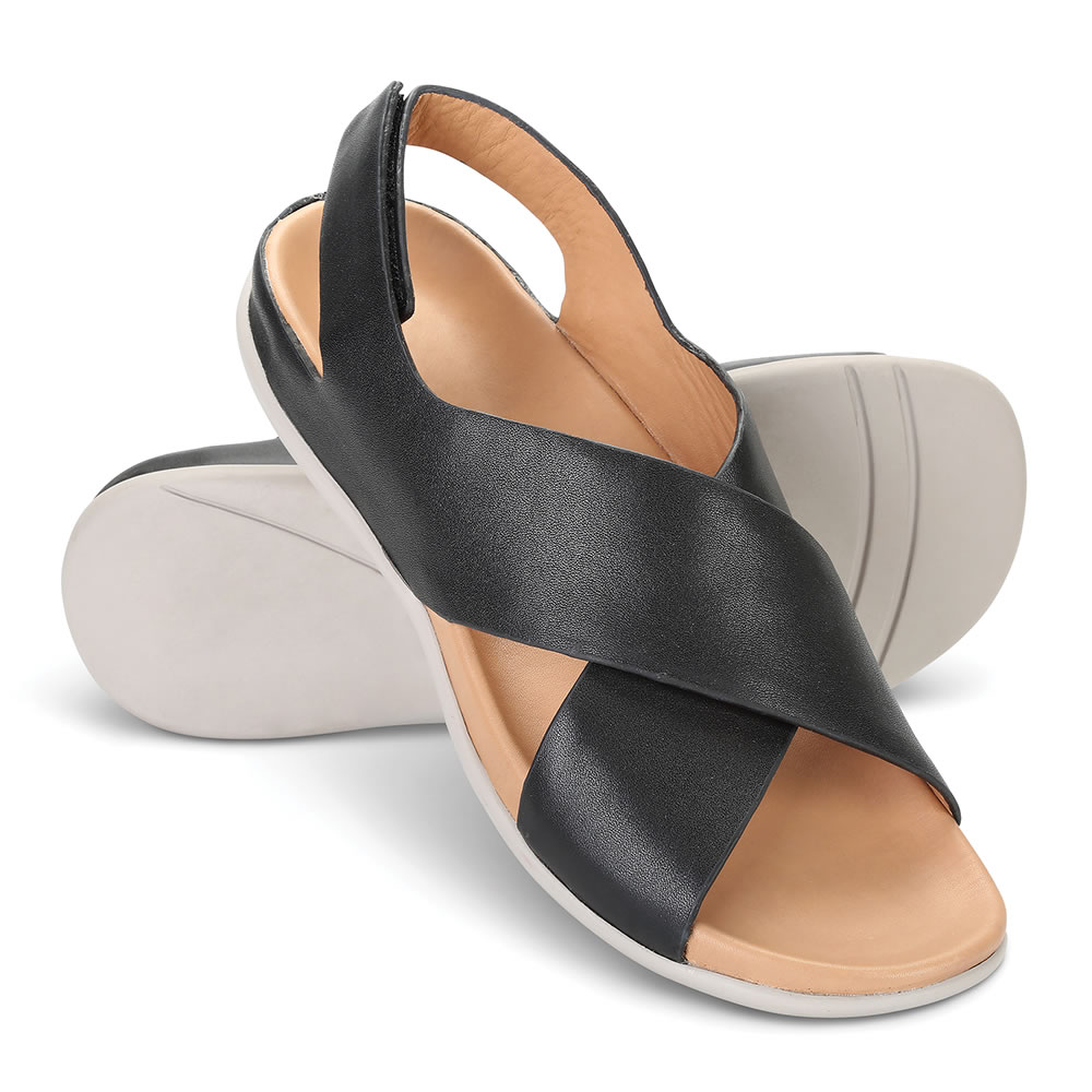 Back The Relieving Cross Strap Sandals Pain 3lJFK1Tc
