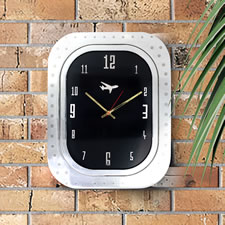 The Authentic 747 Airplane Window Wall Clock