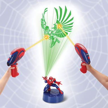 The Spiderman Virtual Web Capture Game