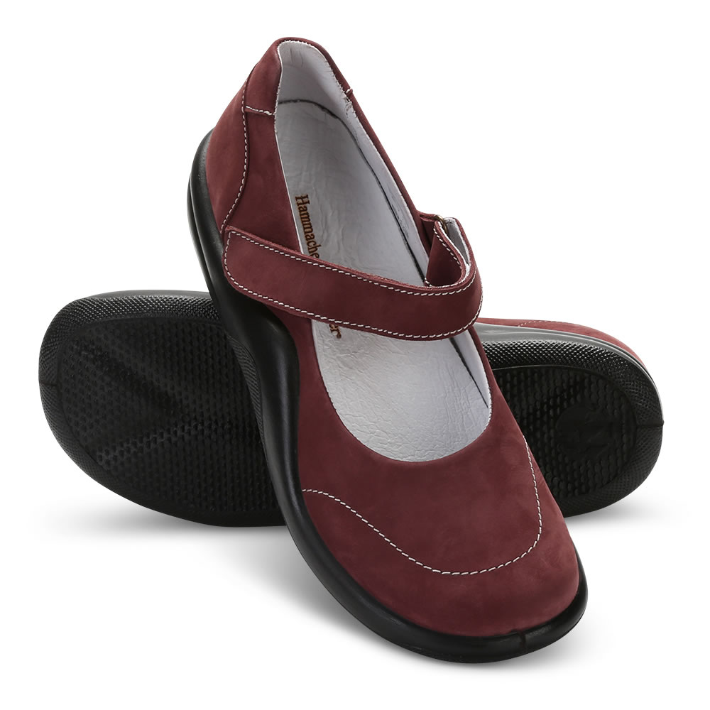 1b7e0104bf405 The Lady's Walk On Air Mary Janes - Hammacher Schlemmer
