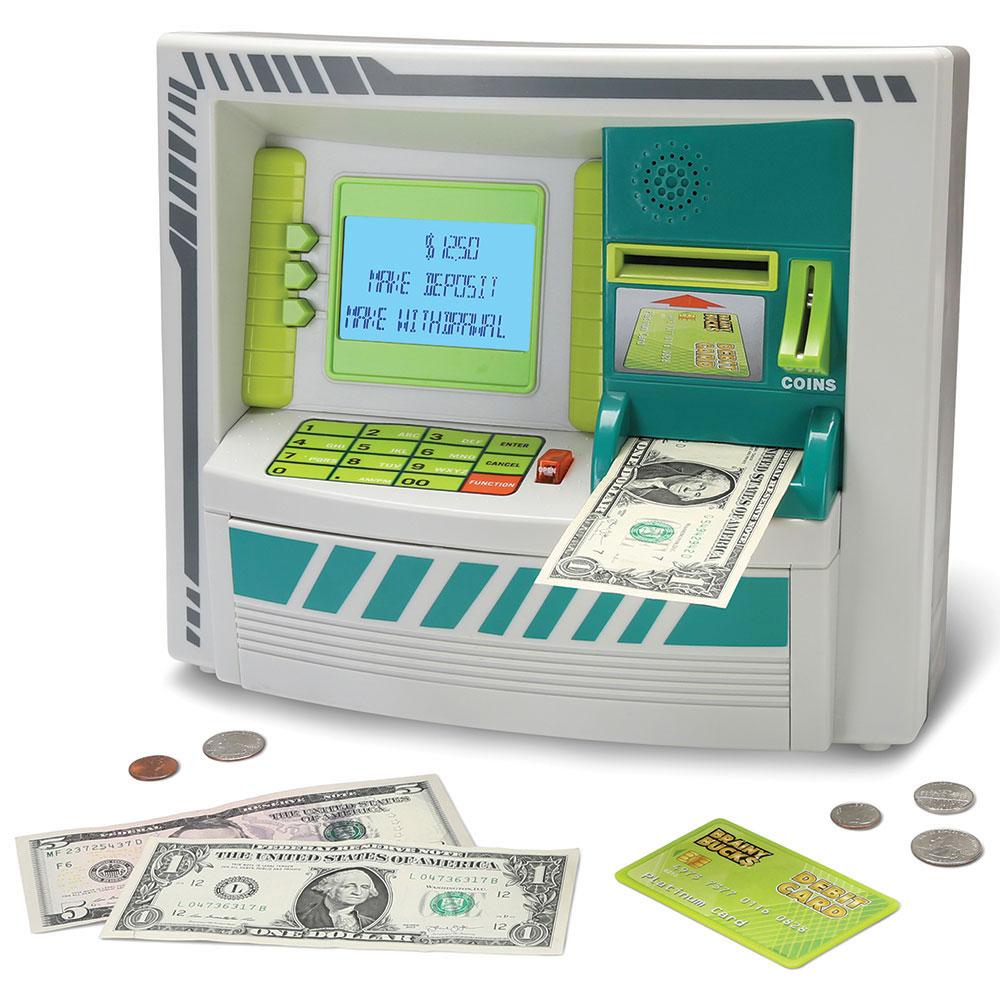 The Best Children\'s ATM Bank - Hammacher Schlemmer