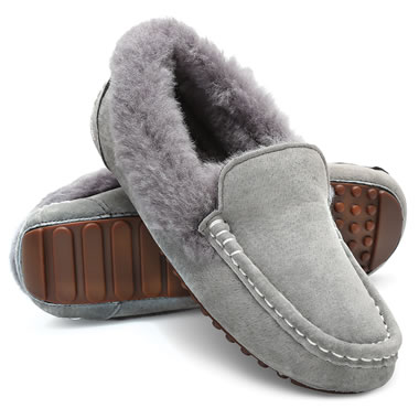 The Lady's Shearling Driving Moccasins