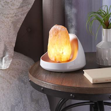 The Himalayan Misting Salt Lamp