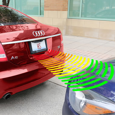 Bump Avoiding Parking Sensor