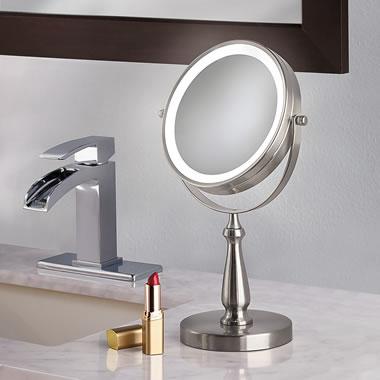 Cordless 8X Vanity Mirror